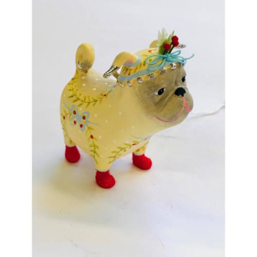 Krinkles - Prudence Pug Ornament