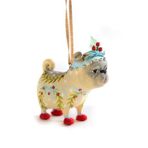 Krinkles - Prudence Pug Mini Ornament