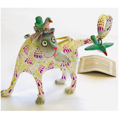 Krinkles - Sylvie Siamese Katbird Ornament