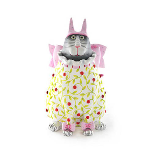 Krinkles - Averina Pink Hat Cat Figure