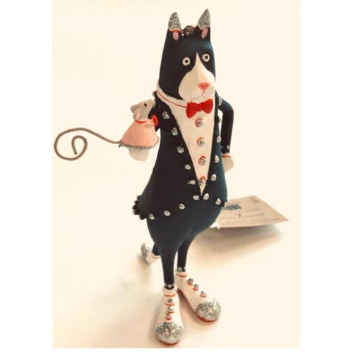 Krinkles - Thomas Tuxedo Cat Ornament