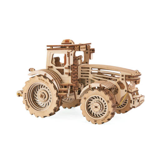 Wood Trick - Traktor- Holzbausatz
