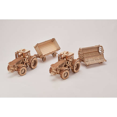 Wood Trick -Anhängerset für Traktor