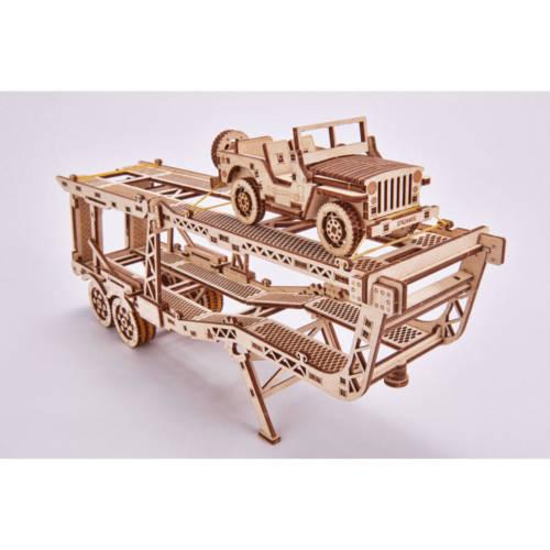 Wood Trick - Autoauflieger für Big Rig