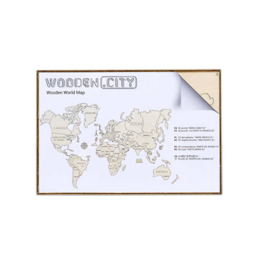 Wooden.City - World Map M