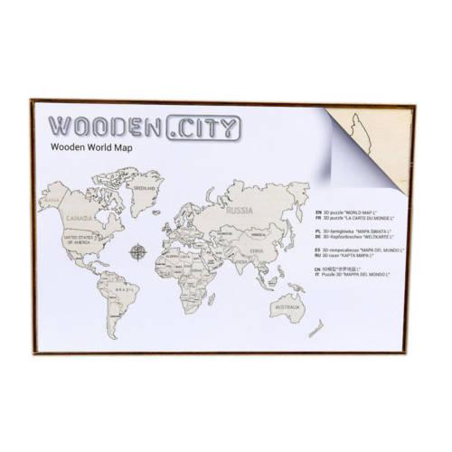 Wooden.City - World Map XL