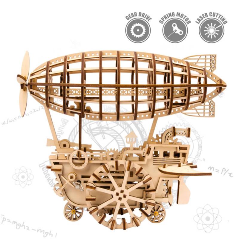 ROKR - Zeppelin 3D Holzbausatz