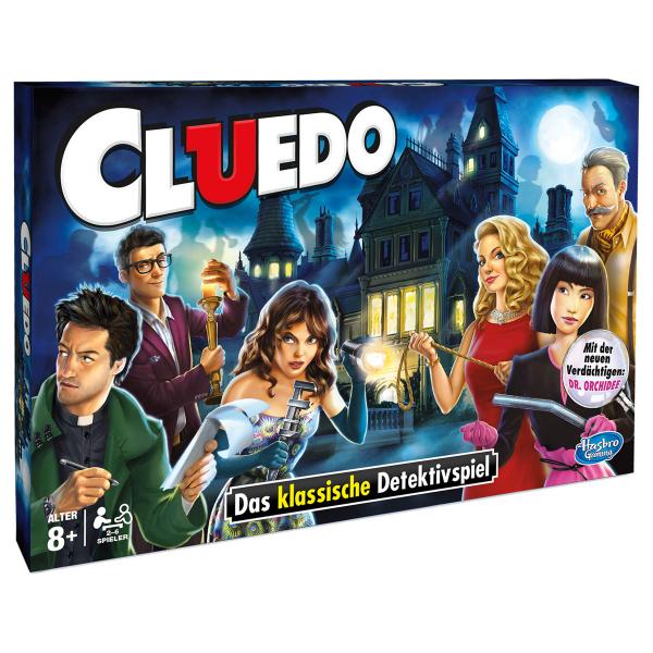 Cluedo d - Hasbro Gaming