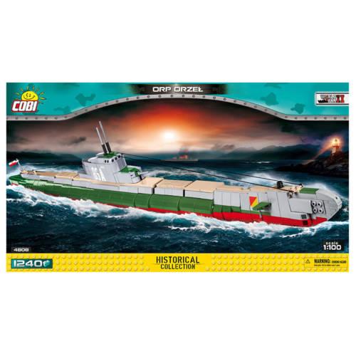 Ludibrium-Cobi 4808 - U-Boot ORP Orzel 1:100