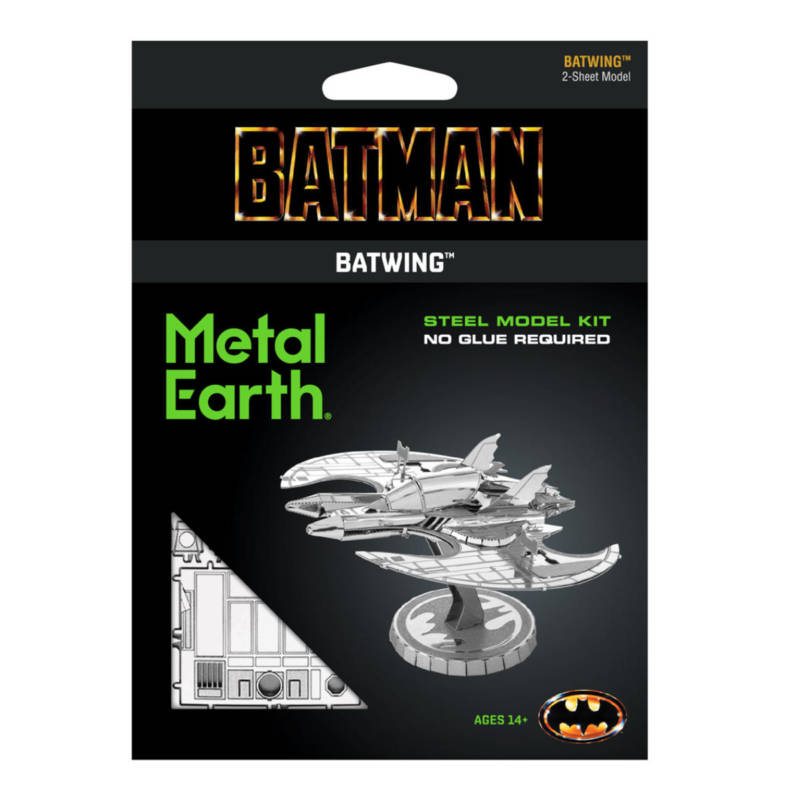 Ludibrium-Metal Earth 502754 - Batman 1989 Batwing MMS373