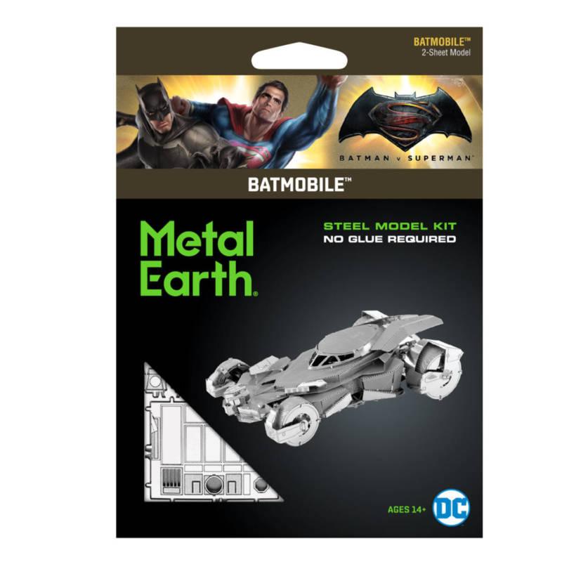 Ludibrium-Metal Earth 502758 - Batman vs Superman Batmobil MMS375