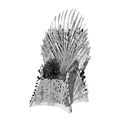Ludibrium-Metal Earth - Iconx Game of Thrones: Iron Throne ICX122 - fertiges Demo-Modell