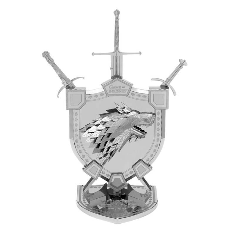 Ludibrium-Metal Earth 502983 - Iconx Game of Thrones: House Stark Sigil ICX125