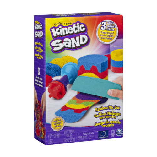 Ludibrium-Spinmaster - Kinetic Sand Rainbow Set 423g