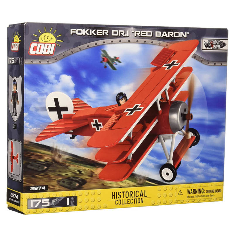 Ludibrium-Cobi 2974 - Fokker Dr. I Red Baron