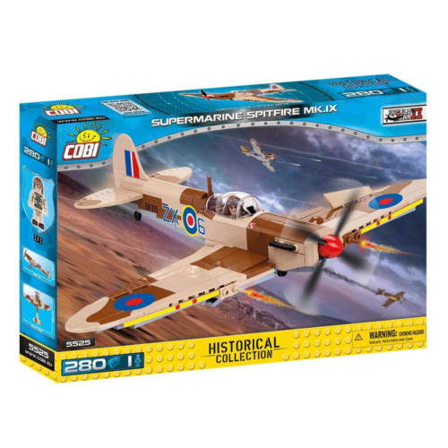 Ludibrium-Cobi 5525 - Supermarine Spitfire Mk IX