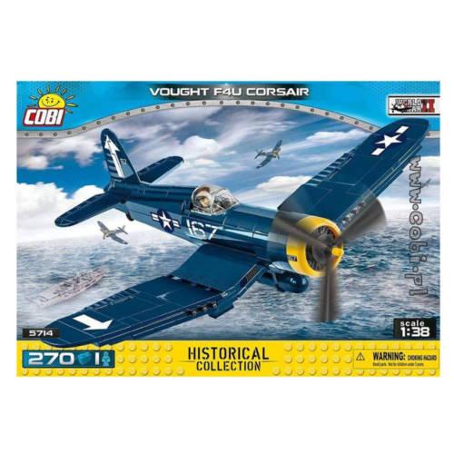 Ludibrium-Cobi 5714 - Vought F4U Corsair, 1:38