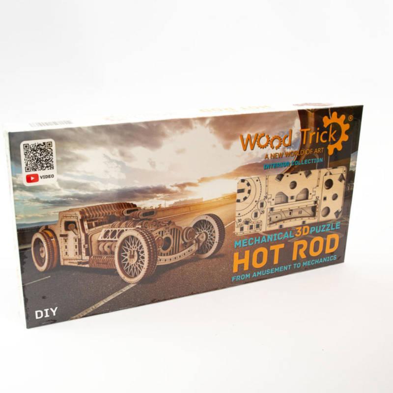 Wood Trick - Hot Rod- Holzbausatz
