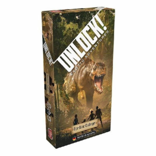 Asmodee - Unlock Exotic Aventures - Expedition: Challenger
