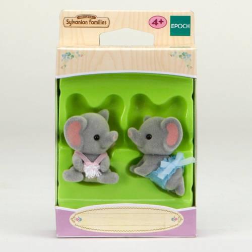 Ludibrium-Sylvanian Families 3560 - Elephant Baby Twins