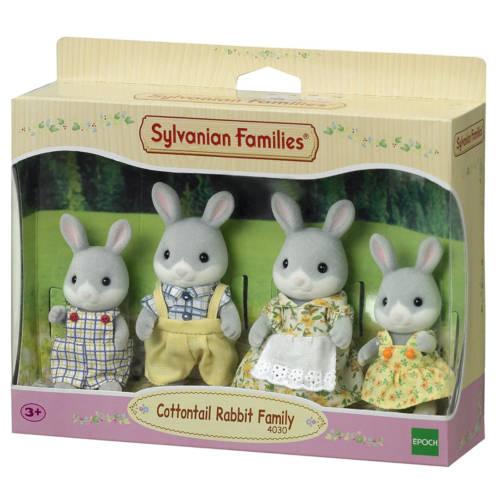 Ludibrium-Sylvanian Families 4030 - Cottontail Rabbit Family