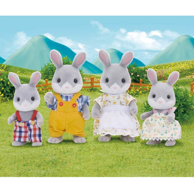 Ludibrium-Sylvanian Families 4030 - Cottontail Rabbit Family