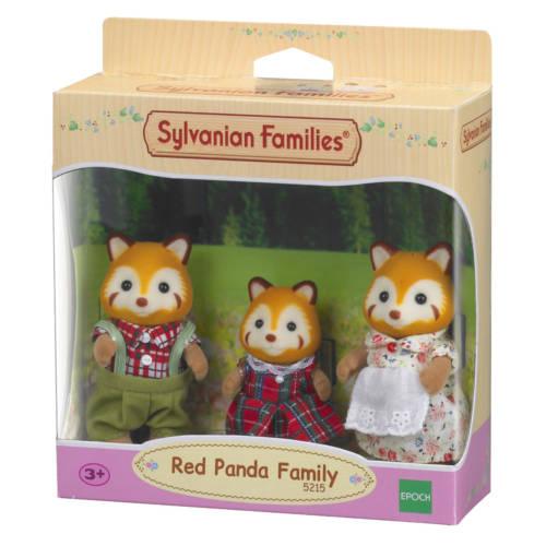 Ludibrium-Sylvanian Families 5215 - Red Panda Family