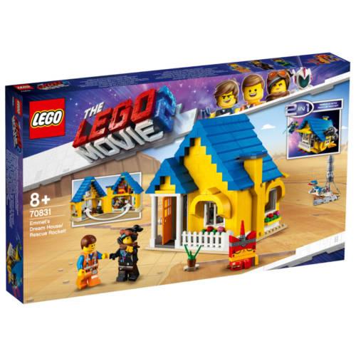 Ludibrium-LEGO® The Movie 2 - 70831 - 2 in 1 Emmets Traumhaus / Rettungsrakete