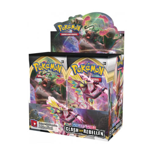 "Ludibrium-Pokémon - Schwert & Schild ""Clash der Rebellen"" Booster - Deutsch"