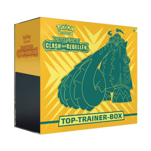 "Ludibrium-Pokémon - Schwert & Schild ""Clash der Rebellen"" Elite Trainer Box - Deutsch"