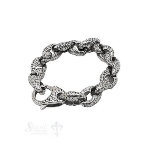Ludibrium-Herren Armschmuck - Stahl Armkette