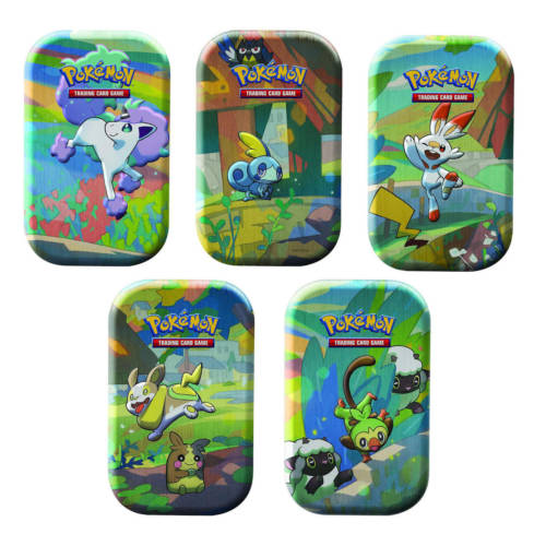 Ludibrium-Pokémon - Galar Pals Mini-Tin Box assortiert