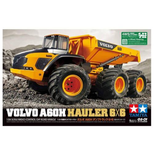 Ludibrium-Tamiya 58676 – Volvo A60Z Hauler 6x6 (G6-01) 1:24