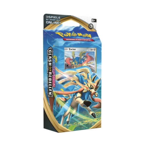 """Ludibrium-Pokémon - Schwert & Schild """"Clash der Rebellen"""" Zacian Themendeck - Deutsch"""