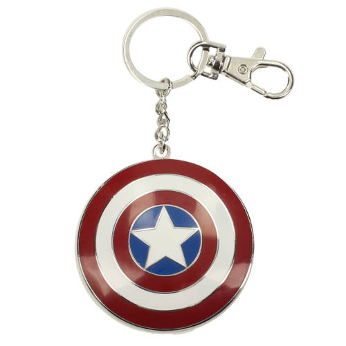 Ludibrium-Marvel Comics - Metall-Schlüsselanhänger - Captain America Shield