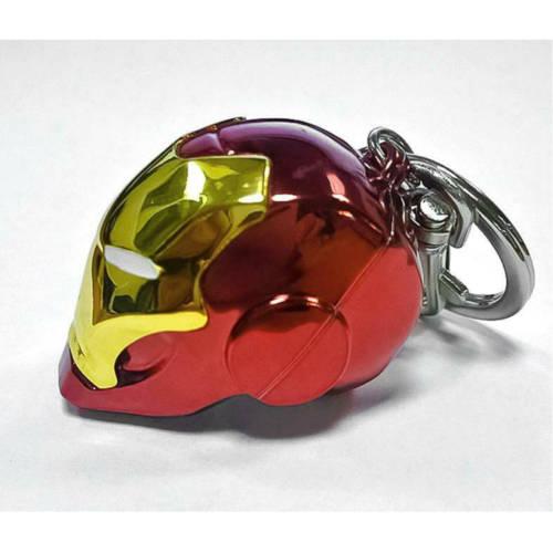 Ludibrium-Marvel Comics - Metall-Schlüsselanhänger - Iron Man Helm