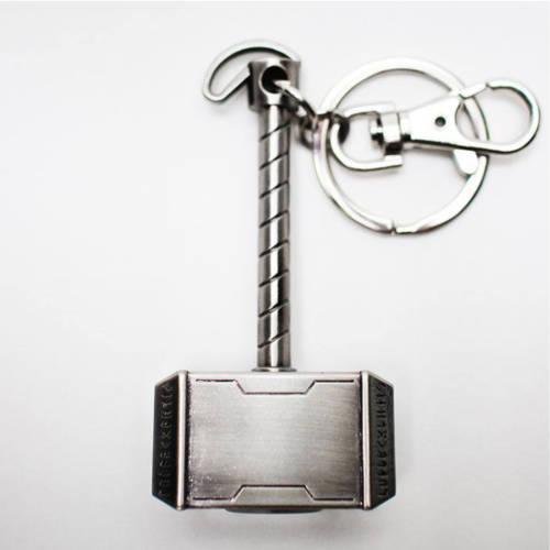 Ludibrium-Marvel Comics - Metall-Schlüsselanhänger - Thor Hammer