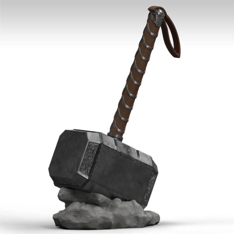 Ludibrium-Marvel Comics - Spardose Thor Hammer Mjölnir