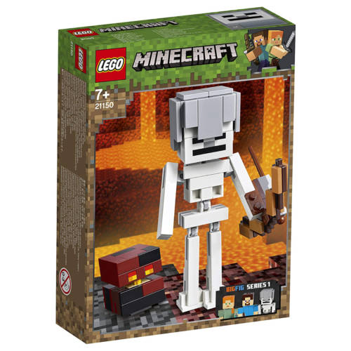 Ludibrium-LEGO® Minecraft™ 21150 - BigFig Skelett mit Magma Würfelset