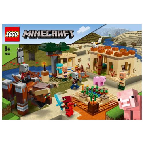 Ludibrium-LEGO® Minecraft™ 21160 - Der Illager-Überfall