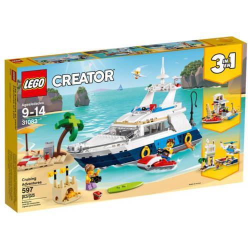 Ludibrium-LEGO Creator 31083 - Abenteuer auf der Yacht