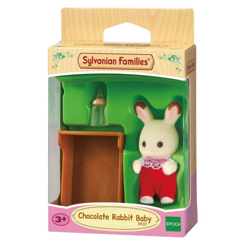 Ludibrium-Sylvanian Families 3410 - Chocolate Rabbit Baby