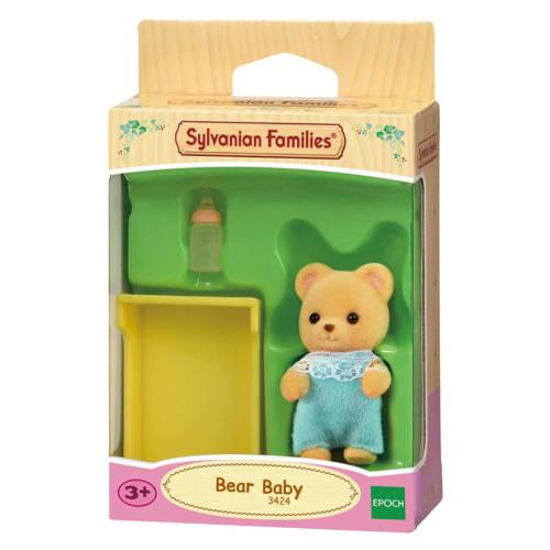 Ludibrium-Sylvanian Families 3424 - Bear Baby