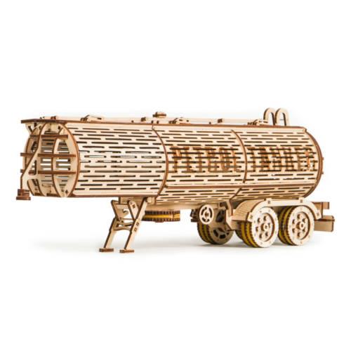 Ludibrium-Wood Trick - Tank Trailer (Tankauflieger für Big Rig) - 3D-Modellbau
