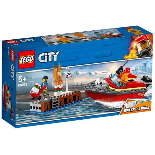 Ludibrium-LEGO City 60213 - Feuerwehr am Hafen - Klemmbausteine