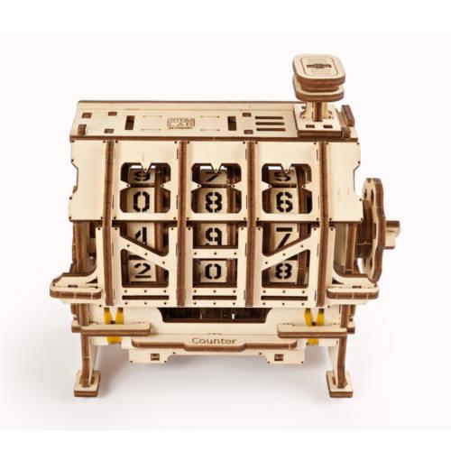 Ludibrium-UGEARS 70130 - Zähler - 3-D Holzspielzeug