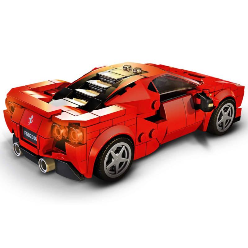 Ludibrium-LEGO Speed Champions 76895 - Ferrari F8 Tributo