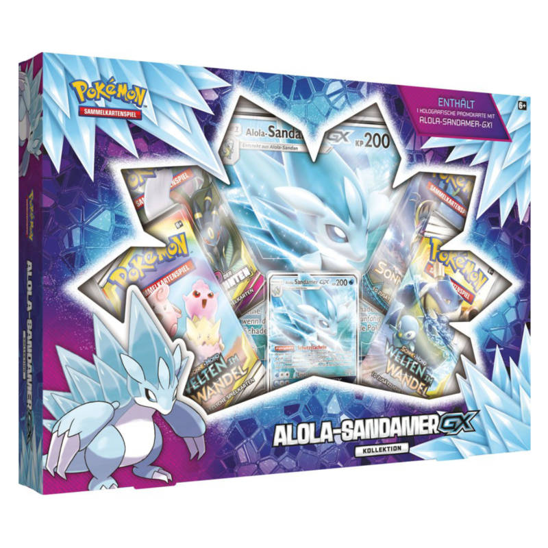 Ludibrium-Pokémon - Alola-Sandamer-GX Kollektion - Deutsch