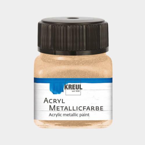 Ludibrium-KREUL - Acryl Metallicfarbe Champagner 20 ml