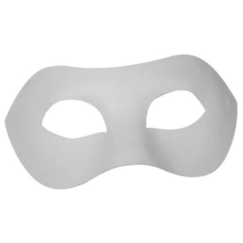 Ludibrium-Rayher - Pappmaché Maske Domino weiss
